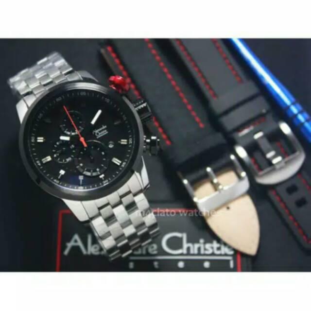 Alexandre christie 6163 AC6163 silver black