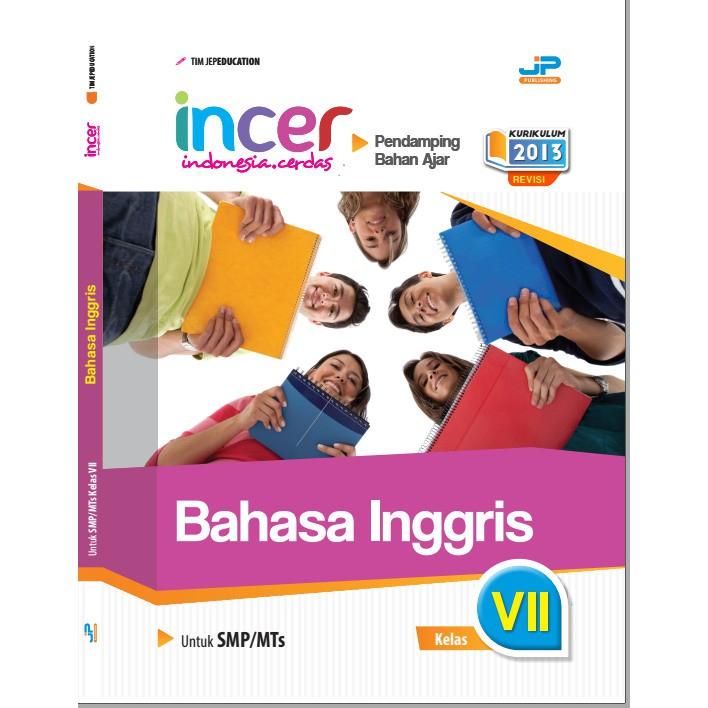 Buku Pendamping Bahasa Inggris Kelas 7 Kunci Jawaban Incer Shopee Indonesia