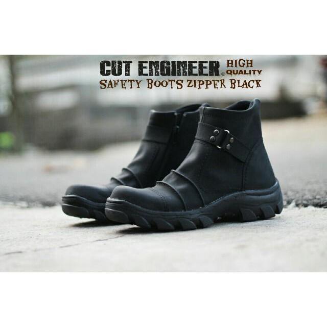 sepatu ziper - Temukan Harga dan Penawaran Boots Online Terbaik - Sepatu  Pria Januari 2019  c5d4269f71
