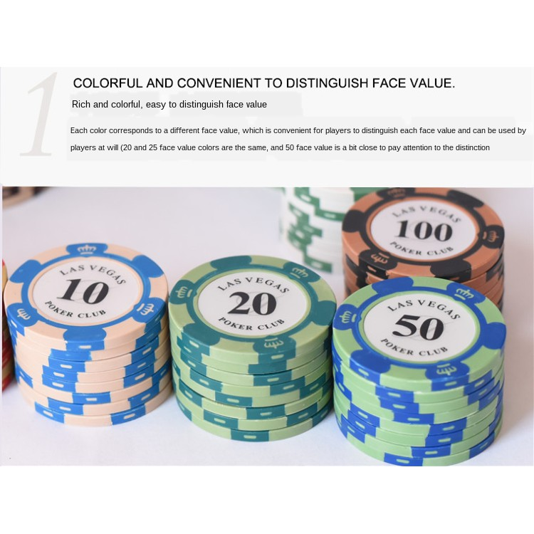 Kartu Poker Custom Dengan Rak Chip Texas Untuk Ruang Tamu Shopee Indonesia
