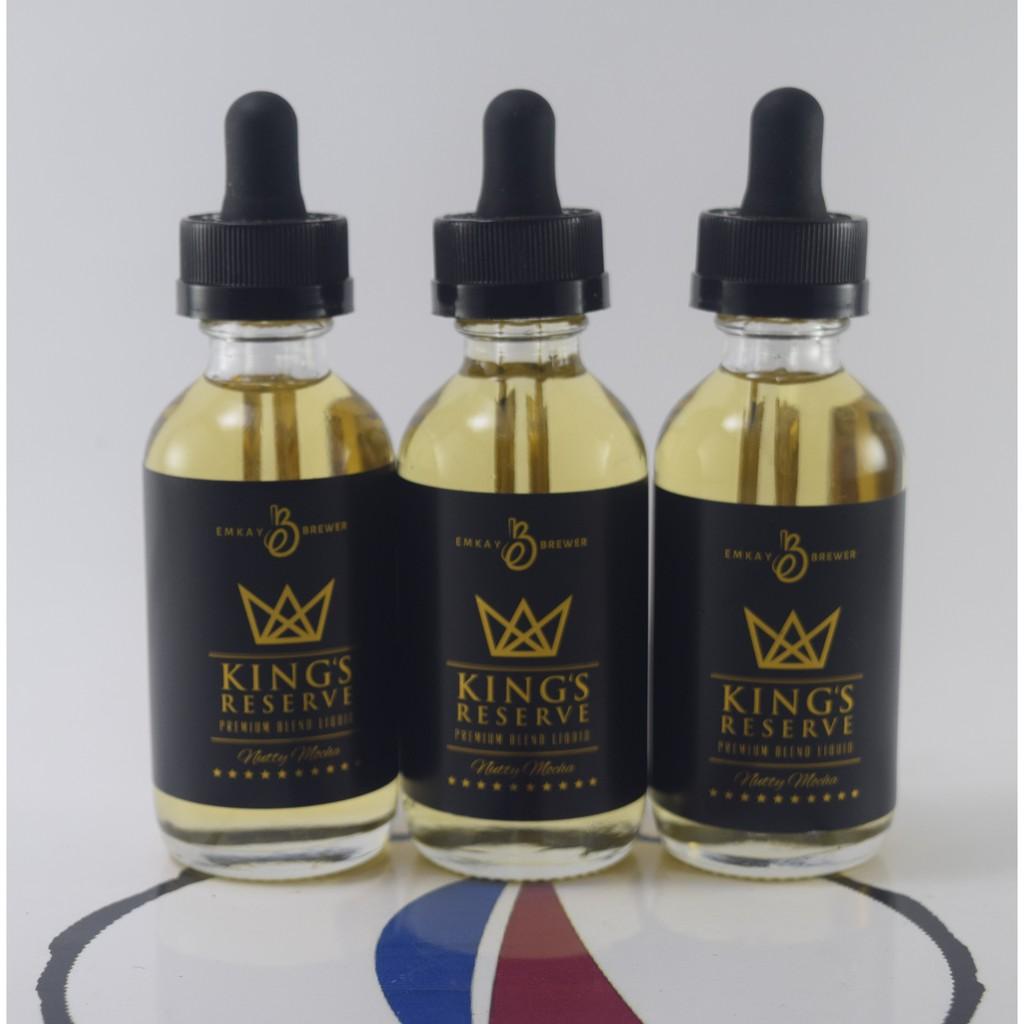 Kings Reserve Emkay Brewer 60ml 3mg Premium Locala E Liquid Cek Gentleman Mar A Lago Vape Vapor Eliquid Ejuice King By Rda Mod Shopee Indonesia
