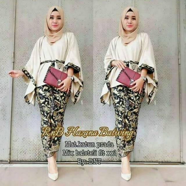 Baju Pesta Wanita Kebaya Batik Model Kelelawar Size Jumbo Big Size Harga Murah Best Kuality Shopee Indonesia