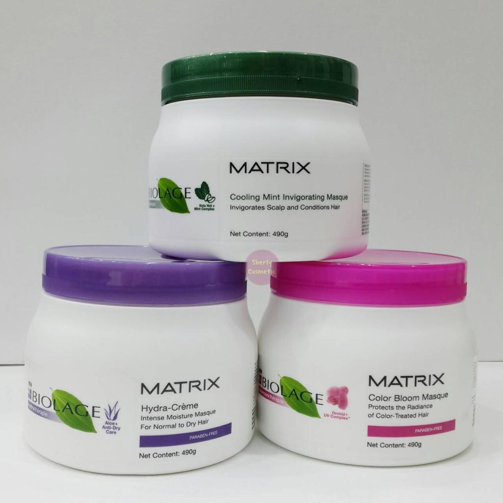 Matrix Biolage Hair Mask 490ml Masker Rambut Varian Lengkap Shopee Indonesia