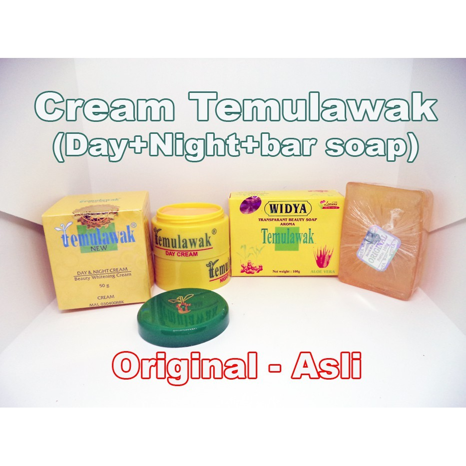 Krim Cream Temulawak Original Siang Dan Malam Plus Sabun Widya Day Night Pot Kuning Holo Emas Super Pink Shopee Indonesia