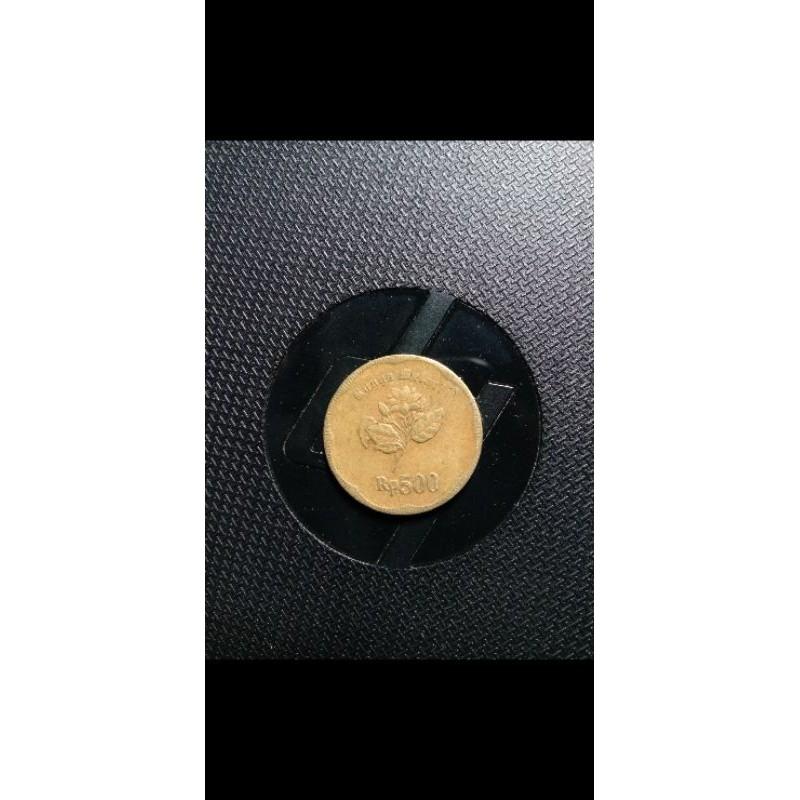 uang lama koin 500 gambar melati tahun 1992