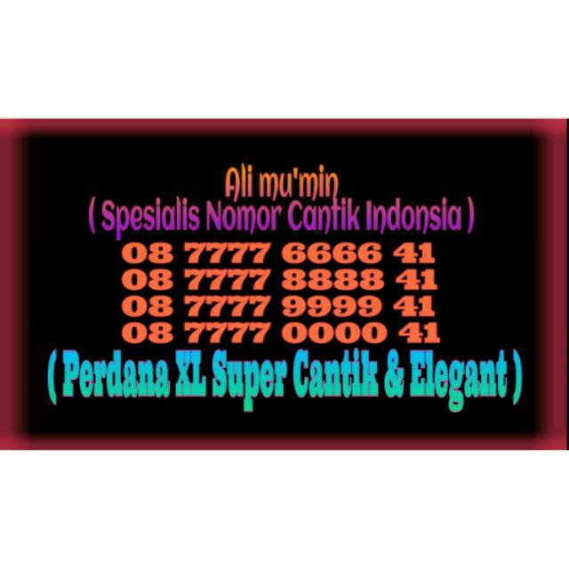 NOMOR CANTIK XL 10 DIGIT SERI TAHUN LAHIR ( 0818 64 1997 )   Shopee Indonesia