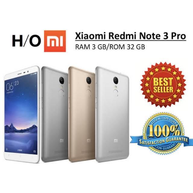 XIAOMI XIOMI REDMI NOTE 3 PRO 32GB 3GB 4G LTE GRNS 1 THN