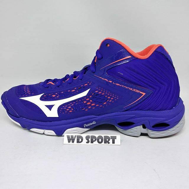 Sepatu WLZ 5 Mid 500 Mizuno Profesional Voli volley voly Original ... 703a2378fd