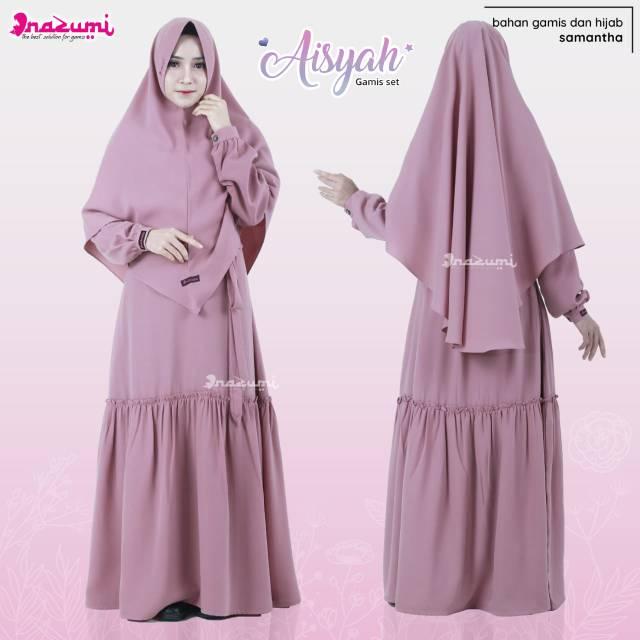 Aisyah Gamis Set Ori By Nazumi Shopee Indonesia