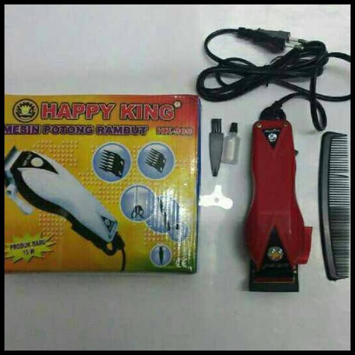 Happy King Mesin Alat Cukur Rambut Pria HK-900 Professional Hair Clipper  Trimmer Mesin Alat 844e47e7eb