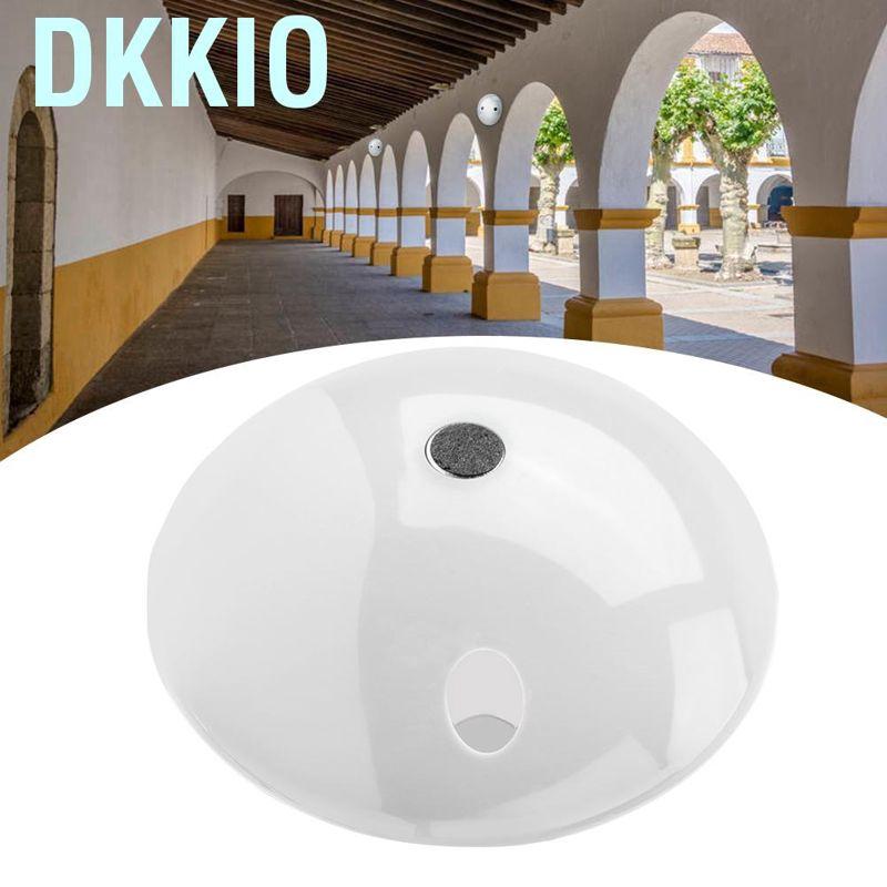 Noise Reduction Microphone Audio Pickup Device for CCTV Audio Monitor White Mushroom Shape Audio Pickup Microphone Device Kit
