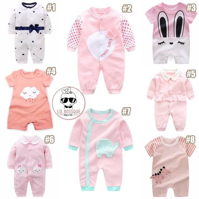 85 Gaya Baju Baby Girl Shopee Kekinian