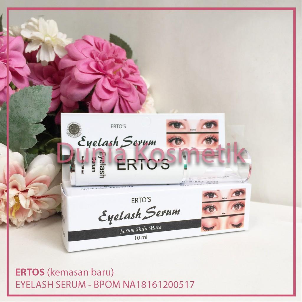 Ertos Eyelash Serum Bulu Mata Original Shopee Indonesia