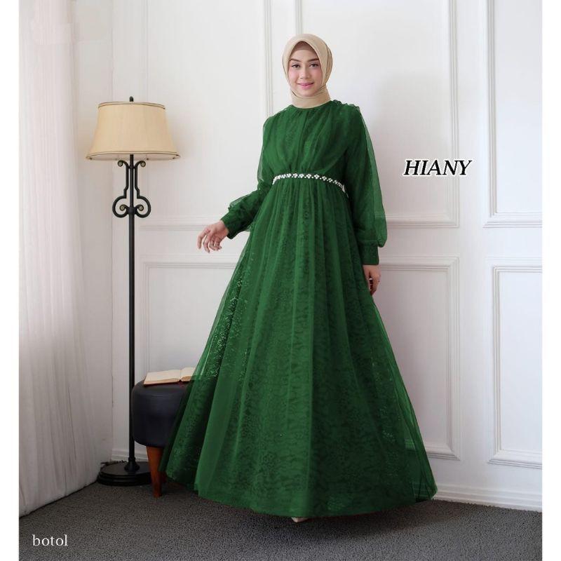 Gamis Pesta Hiany Baju Muslim Pesta Gamis Bridesmaid Dress Bridesmaid Shopee Indonesia