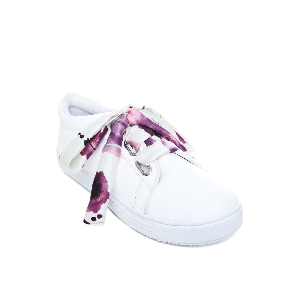 Gigibynagita Ariel White Sneakers Shopee Indonesia Amazara Evelyn Putih 36 Bynagita