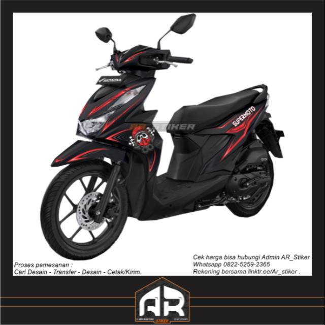 Decal Honda Beat Street 2020 Shopee Indonesia
