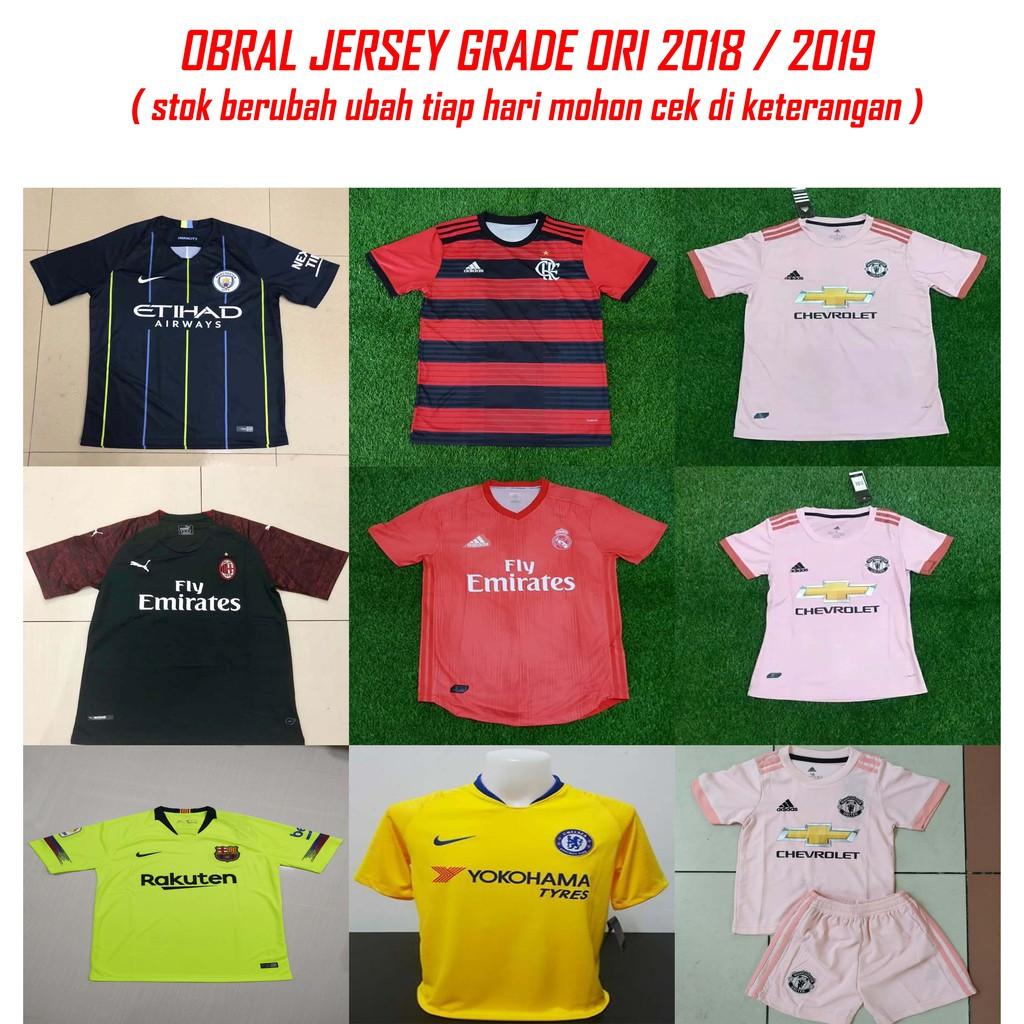 91e09e5fae0 Jersey Grade Ori Milan 3rd 2019 2020 | Shopee Indonesia