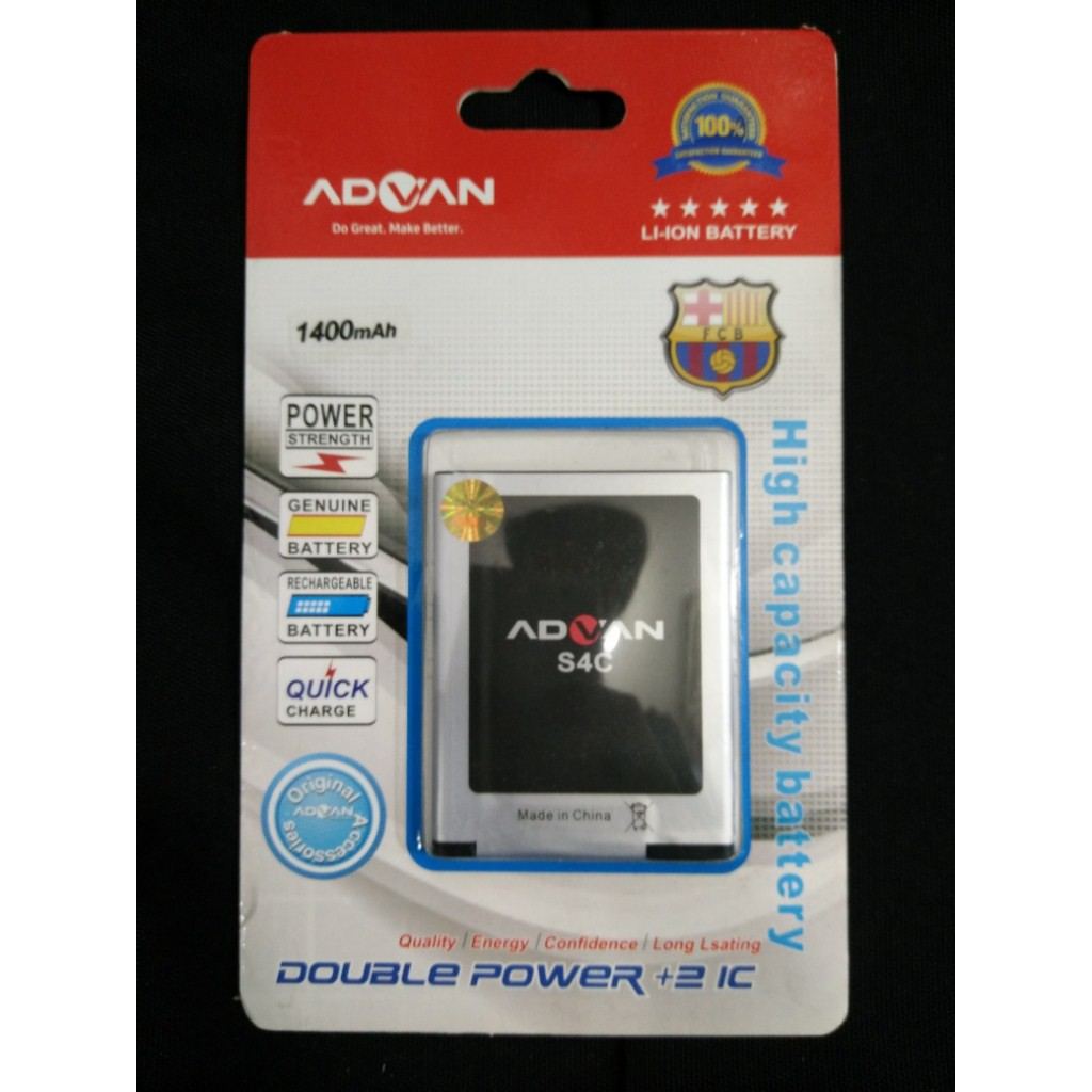 Battery Baterai Batre Samrtfren Andromax C3 Nero 2800mAh Double Power | Shopee Indonesia