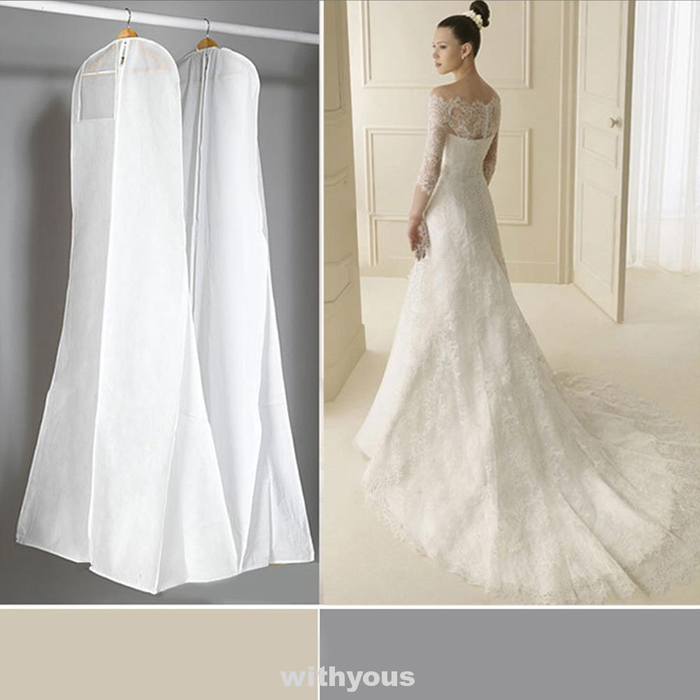 Extra Large Non-woven Protection Storage Wedding Dress For Bridal Dustproof  Cover