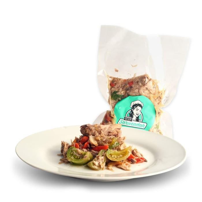 Resep Sarwendah Tongkol Granat Lauk Pauk Spicy 250gr Shopee Indonesia