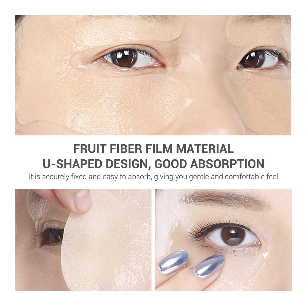[Bayar Di Tempat]LANBENA Vitamin C Eye Masks 50pcs 7
