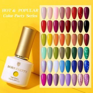 BORN PRETTY 7ml Yellow Red Soak Off UV Gel Nail Polish Nail Art LED Gel Varnish 88 Colors thumbnail