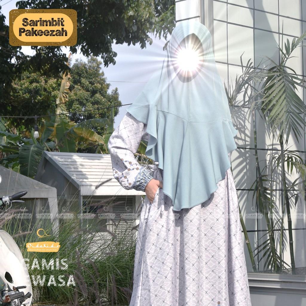 Gamis Dewasa Pakeezah set Jilbab by Oidokids