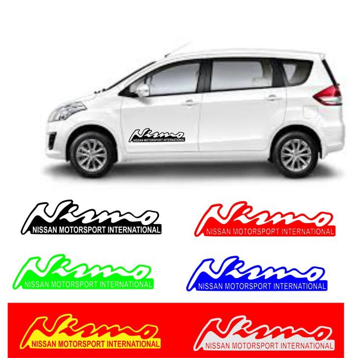 sticker cutting cutting sticker set pintu mobil nismo racing | Shopee Indonesia