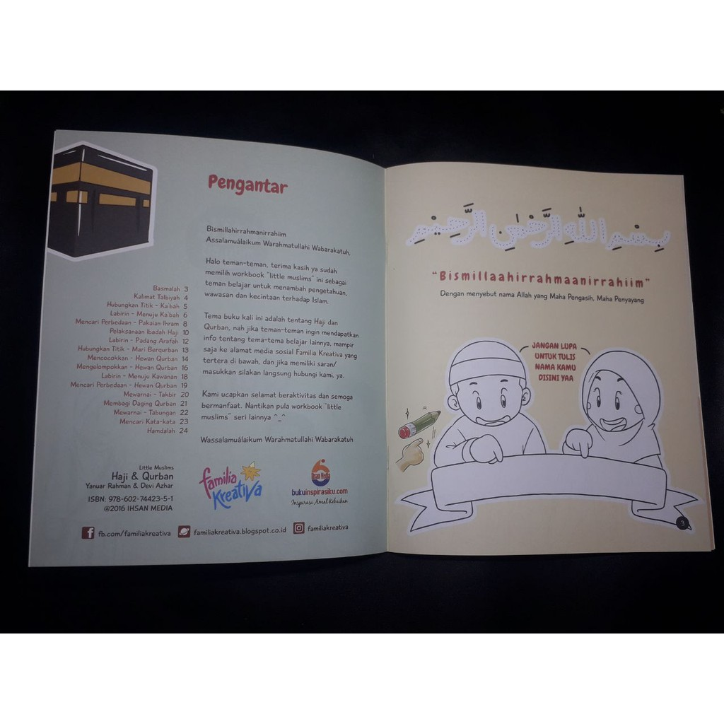 Workbook Little Muslim Haji Dan Qurban