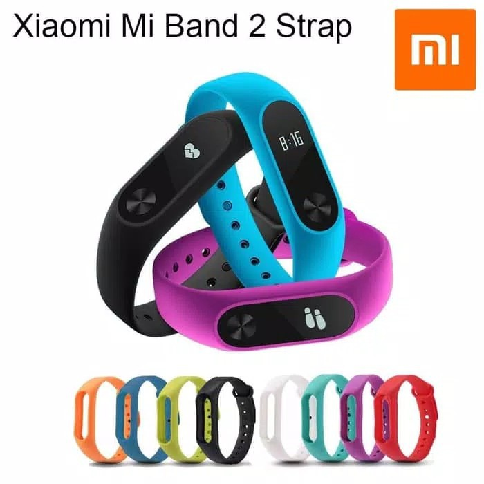 M⦿ Replacement Watch Strap Band Bracelet Wristband for Xiaomi Mi Band 2 | Shopee Indonesia