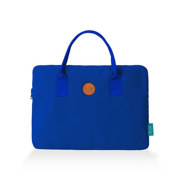 3af5ee63aab Tas Laptop Keren Lucu Merk Niion Notlet 14inch Blue Murah   Shopee Indonesia