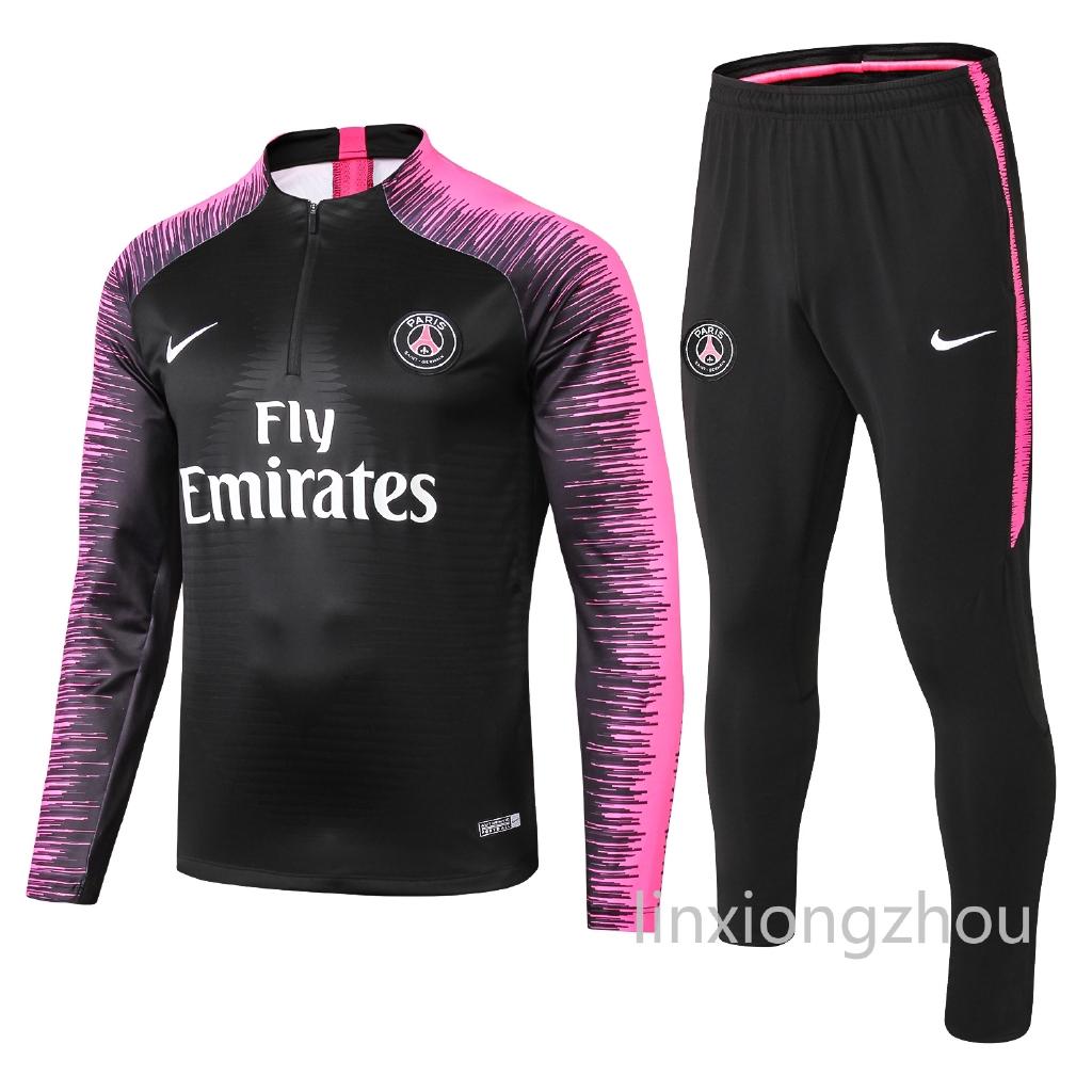Kualitas Terbaik Paris Saint Germain Lengan Panjang Jersey Pelatihan Suit Copy Original 1 1