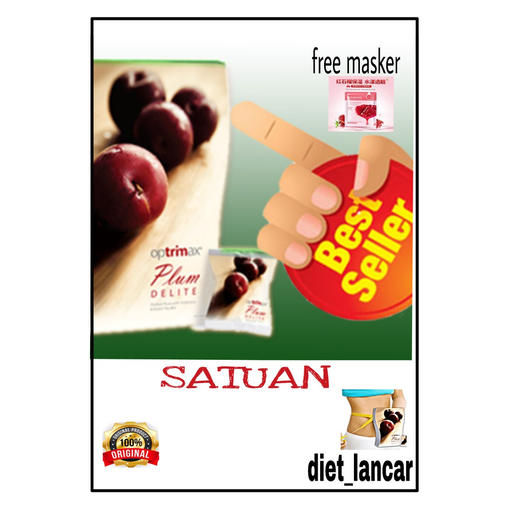 Promo Optrimax Plum Jelly Delite Bwl Bpom Original Buah Kering Paket Dan Detox Diet Eceran Shopee Indonesia