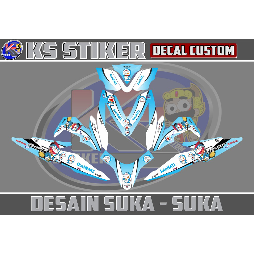 Stiker decal all new beat esp beat street stitch shopee indonesia