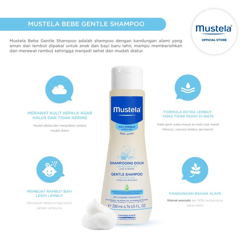 Mustela Bebe gentle Shampoo 200 ml-1