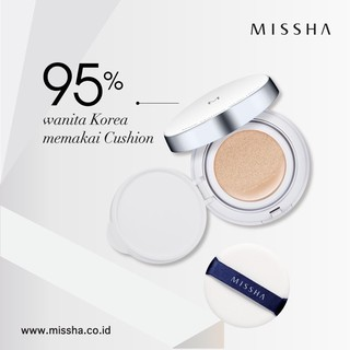 [BPOM] MISSHA M Magic Cushion SPF50+ PA+++ (Tanpa Refill) thumbnail