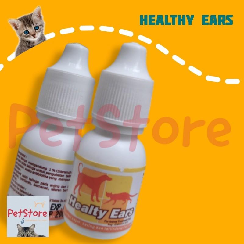 Healthy Ears Obat Tetes Sakit Telinga Kucing Anjing Shopee Indonesia