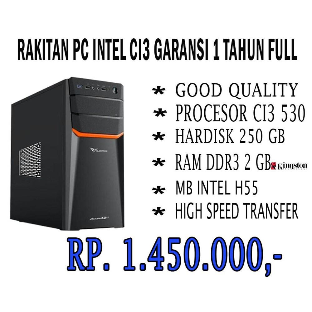 RAKITAN PC CORE I3 530 NEW
