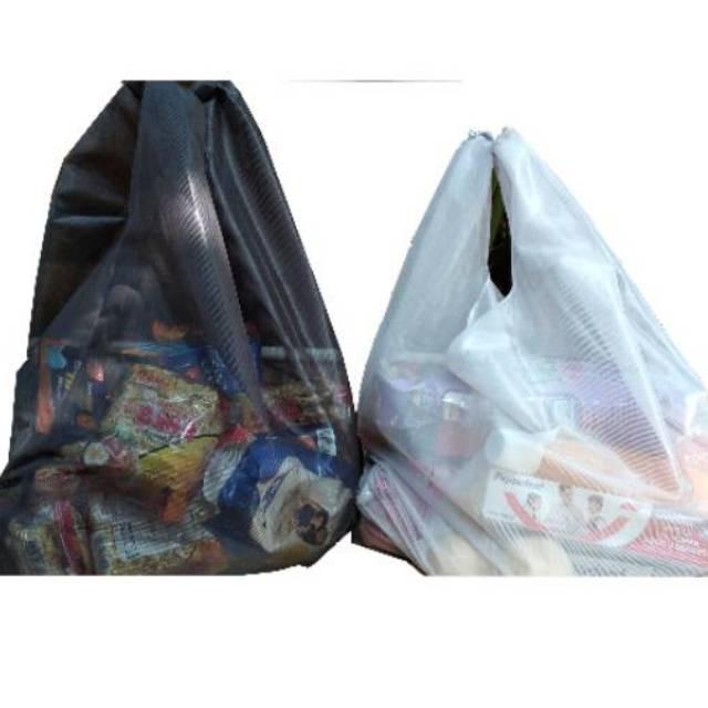 REUSABLE BAG SHOPPING BAG REUSE FOLDABLE BAG TAS JINJING LIPAT MODIS TAS  BELANJA | Shopee Indonesia
