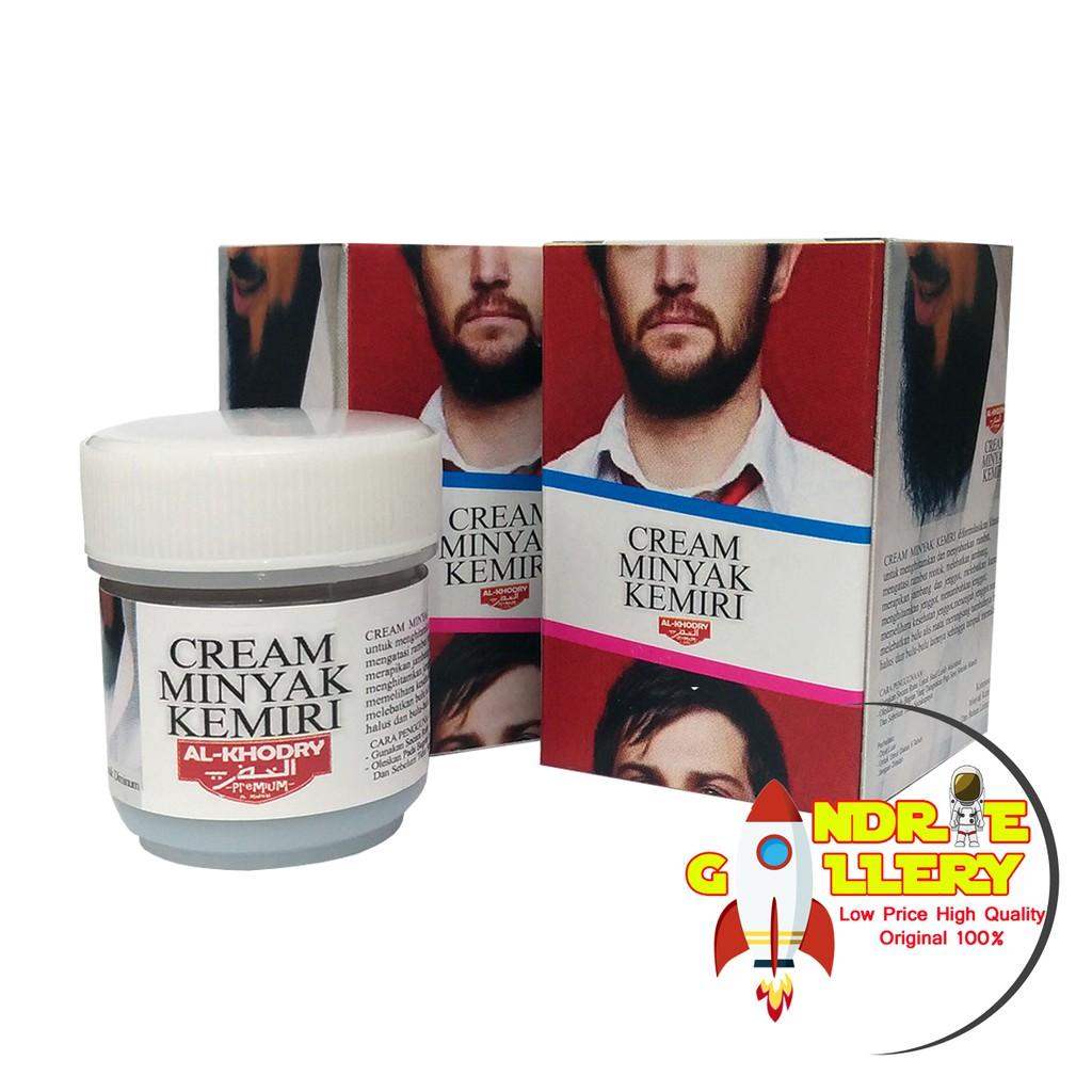 Cream Krim Kemiri Original Al Khodry Penyubur Penumbuh Bulu Rambut Wak Doyok Sampel 125ml Shopee Indonesia