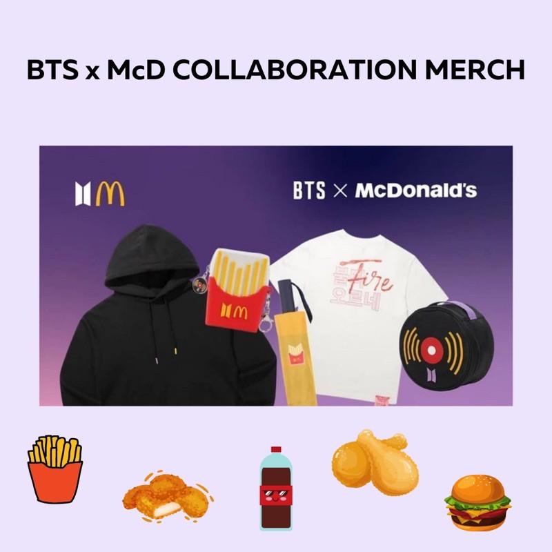 [PRE ORDER DP] BTS x McD OFFICIAL MERCH