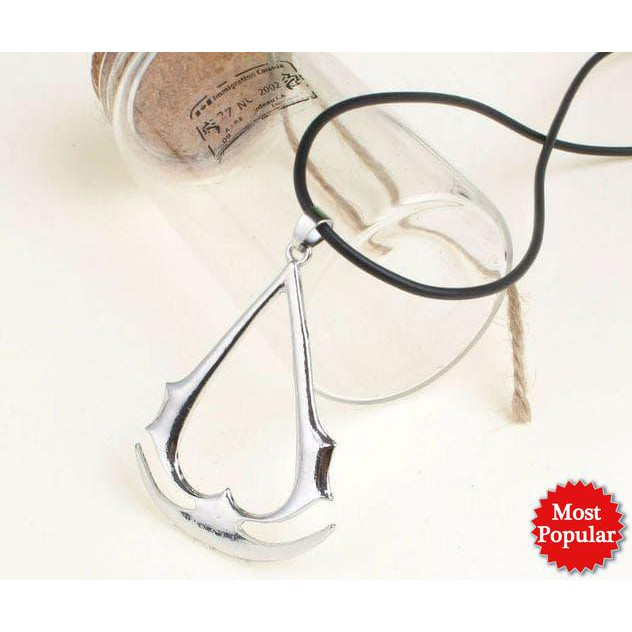 Assassin S Creed Necklace Kalung Tali Assassin Creed Shopee