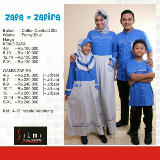 Baju couple keluarga sarimbit seragam muslim terbaru koko gamis ayah ibu dan anak termurah branded | Shopee Indonesia