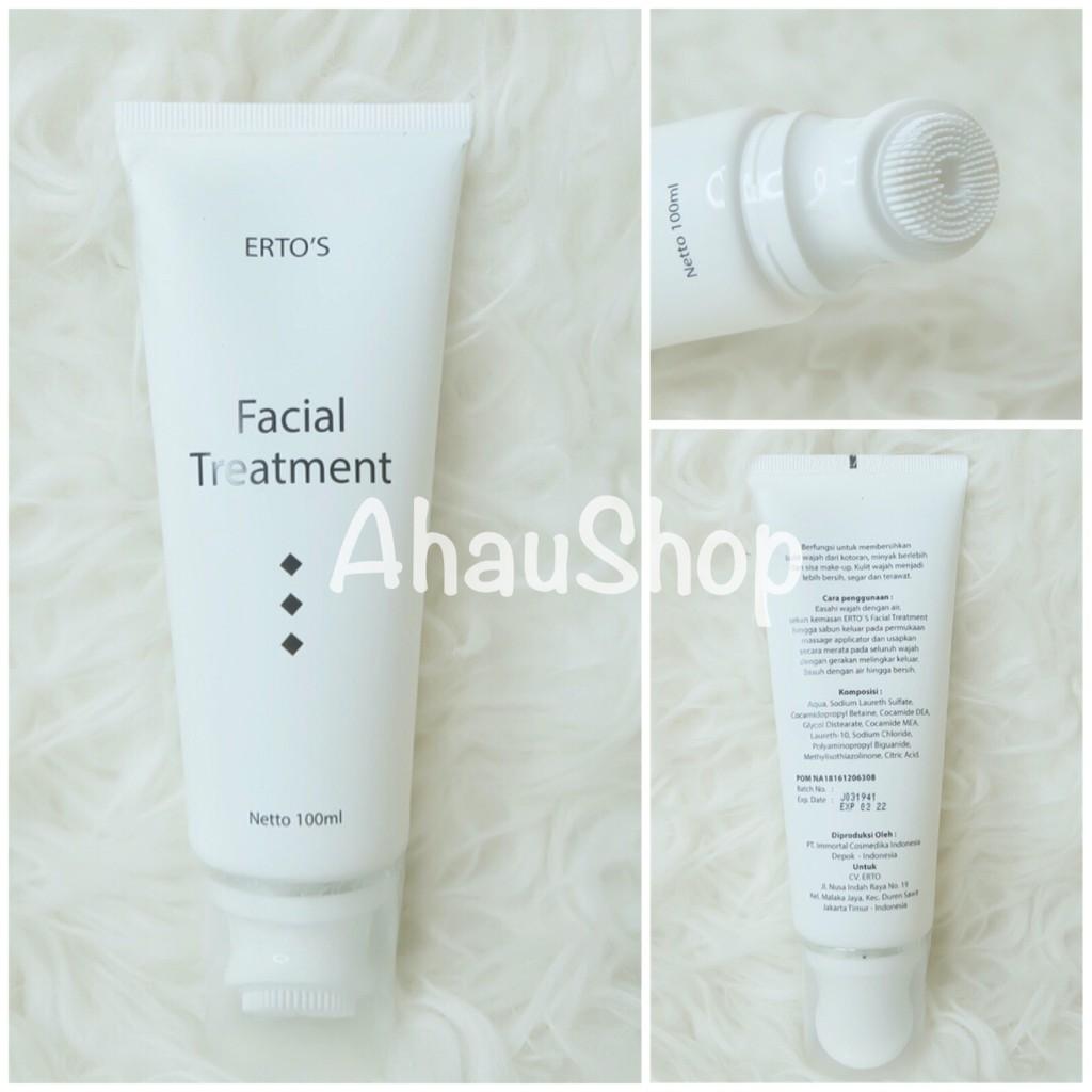Ertos Facial Treatment 100ml Original Bpom Na18161206308 Erto Shopee Indonesia