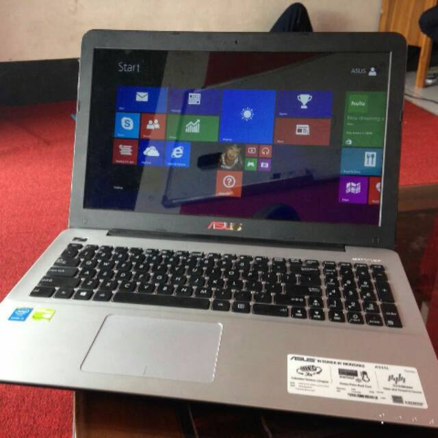 Laptop Super Gaming..!! ASUS A555L core i5