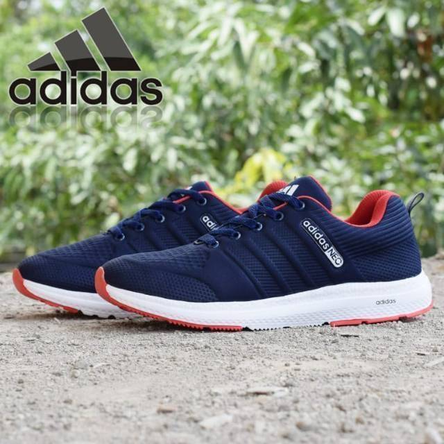 4d041a60c3c NEW!! Sepatu Running Canvas Untuk Pria Adidas Neo QF Ukuran 39-44  By.oreo_store