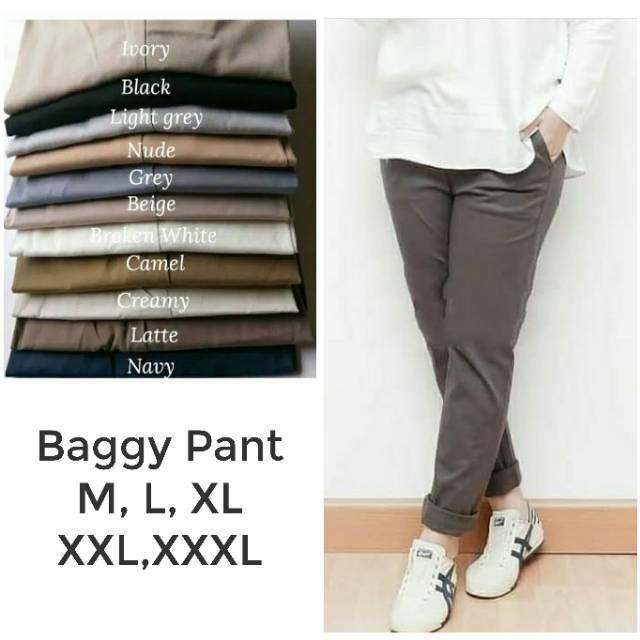 68+  Celana Baggy Pants Bahan American Drill Paling Keren Gratis