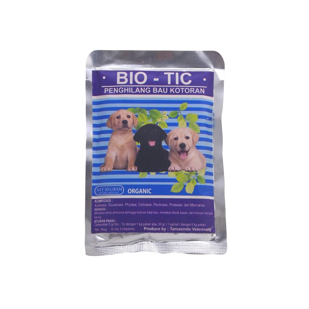Bio-Tic / Biotic dog / Bio Tic anjing 30 gram dan 50 gram - Penghilang Bau Kotoran Anjing dari Pakan | Shopee Indonesia