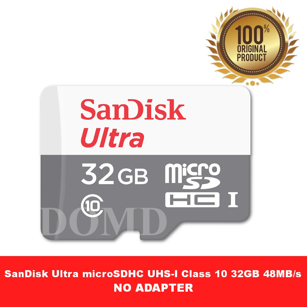 Free Ongkirsandisk Microsd Ultra 48mb S 16gb Class 10 Uhs 1 Sandisk Micro Sd 32gb No Adapter Garansi Resmi Sdsqunb 016g Shopee Indonesia