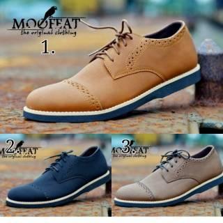 Sepatu Formal Pria Moofeat Morises Original Kasual Formal Kets Sneakers Original  Pria TERMURAH  ecebd12c8c